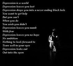 #Depression Isn't Easy...