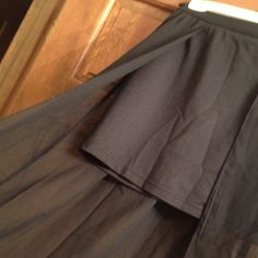 Skirt With Overlay Beautiful Black Skirt With Sheer Maxi Over Lay,OpenIng Down Front/New Years Outfit!🎉🍸 Charlotte russe Skirts