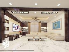 Living Room Partition Design, Room Partition Designs, Ceiling Design Living Room, False Ceiling Design, Living Room Designs, Residential Interior Design, Room Interior Design, Living Room Interior, Living Room Decor