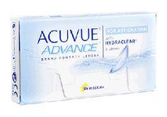 91961564d6cb4 Acuvue Advance para Astigmatismo (Caja con 6 Lentes de Contacto) -  Lentematic. Los