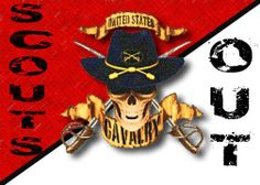Me and My Son are a  CAV. Scout. It was a long and hard journey, but we did it! Hooah!   D.F.B. , P.M.B.