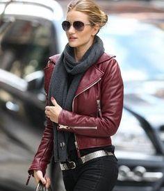 Balenciaga biker jacket in the seasons IT color
