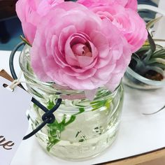 cool vancouver wedding People keep putting pretty flowers in my jars here at @popupweddingshoppe!! I wish that would happen at home too ;) #flowerlove by @thejargirl  #vancouverflorist #vancouverwedding #vancouverwedding
