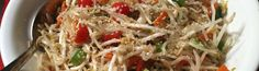 Raw Bean Sprout Salad