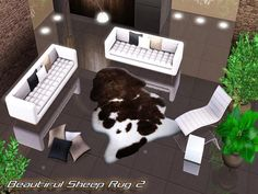 Pralinesims' Beautiful Sheep Rug 2