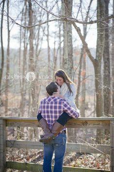 Farm engagement portraits, mountain engagement, forest engagement (Pensacola Wedding Photographer)