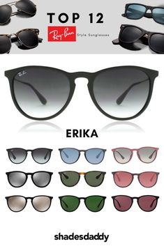 ab937f0bf3 The Ray-Ban Erika RB4171 sunglasses are the perfect accessory to complete  any look.