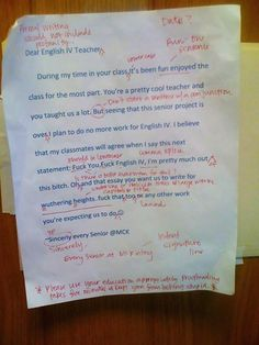 Sometimes, teachers really do have it rough. They may get more holidays than the rest of us, yet they also have to deal with disruptive and annoying students who are constantly finding new ways to torment them. Which is why we think it's pretty impressive when a teacher can retain a wicked sense of humor. Check them out here!