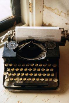 Classic, vintage typewriter.