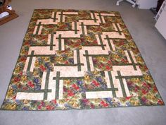 Quilt using the BQ Pattern.