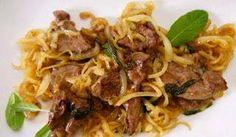 Maksaa venetsialaisittain on klassinen italialainen ruoka.