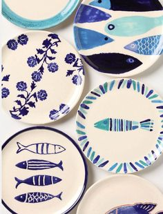 Fish out of water plates