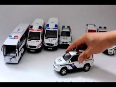 Baby and Toddler's Toys: Motion Sensor Toy Vehicles - Police Car, Ambulance, School Bus, etc... - YouTube