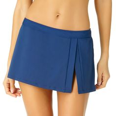Liz Claiborne Swim Skirt Swim Skirt, Swim Dress, Liz Claiborne, Spandex Fabric, Short Dresses, Swimming, Knitting, Skirts, Swimwear