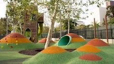 Grand Park's New Playground is Cartoony and Awesome