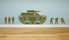 Best Army Wall Stickers for Boys Bedroom Designs Ideas