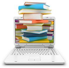 los libros y la tecnologia trabajando juntos