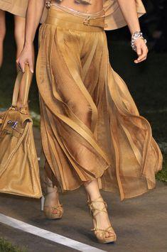 Hermès - skirt, bag