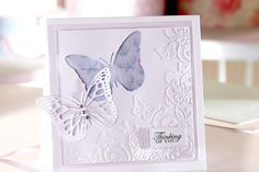 How to Make a Butterfly Aperture Card #SaraDavies #SignatureCollection #Papercraft