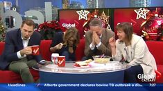 News anchors lose it on air over co-worker's horrible homemade holiday dip