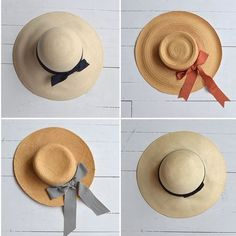 Sombreros vintage, retro hats, cute girl, fashion summer, accesorios de verano www.PiensaenChic.com