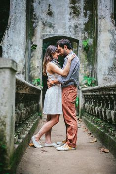 Ensaio de noivos no Parque Lage | Andrea e Thomaz {Fotografia: Leo Staccioli Photography}