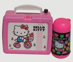 1970's Hello Kitty Vintage Lunch Pail Portable MP3 by HiFiLuggage, $475.00