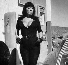 Tura Satana in Faster Pussycat Kill Kill directed by Russ Meyer Bettie Page, Steven Tyler, Liv Tyler, Russ Mayer, Audi, Pattie Boyd, Thing 1, Uma Thurman, Jimmy Page