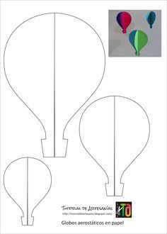 The extraordinary Hot Air Balloon Drawing Template At Paintingvalley For Hot Air Balloon Template Printable digital photography below, is section … Air Ballon, Hot Air Balloon, Balloon Balloon, Balloon Ideas, Diy And Crafts, Crafts For Kids, Arts And Crafts, Decoration Creche, Decoration Crafts