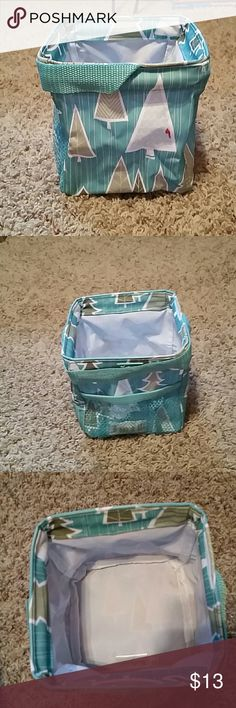 *NWT Thirty-One Carry All Caddy- whimsical winter ***NWT Thirty-One Carry All Caddy - Whimsical Winter print   Price is FIRM. Thirty-One Other