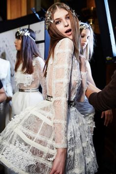 Zuhair Murad Spring 2016 Haute Couture Backstage