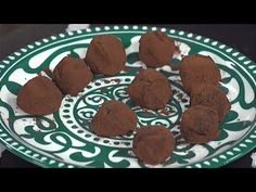 Receta: Trufas - YouTube Chocolate, Favorite Recipes, Cookies, Desserts, Food, Youtube, Dietitian, Deserts, Finger Foods
