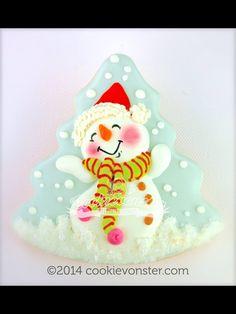 Galleta muñeco de nieve