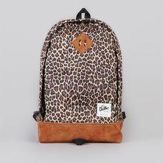 DRIFTER - Leopar desenli sırt çantası
