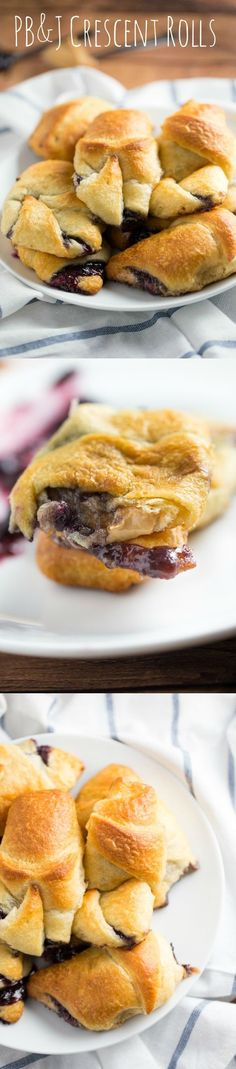 This peanut butter and jelly roll recipe includes an upgrade over the standard PB&J sandwich - you use crescent rolls as a buttery, flakey replacement for regular bread.