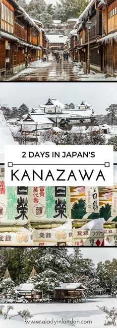 How to spend 2 days in Kanazawa, Japan. From heritage houses to stunning gardens… How to spend 2 days in Kanazawa, Japan. From heritage houses to stunning gardens, this underrated city is worth a special trip. Japan Travel Tips, China Travel, New Travel, Beautiful Places To Visit, Places To See, Kanazawa Japan, Japan Holidays, Visit Japan, Day Trip