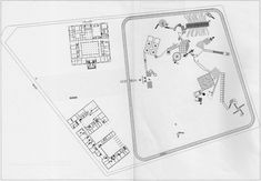 Hejduk Victims Site plan- from Victims-  by John Hejduk