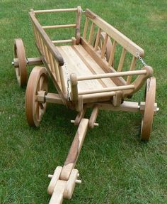 Wooden wagon for my granddaughter