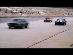 LA River Drag Race - Top Gear USA series 2 Real Muscle with New muscle