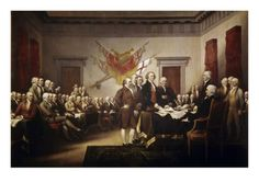 """Signing of the Declaration of Independence"" by John Trumbull"
