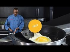Today Chef Robert shows us an easy way to make an amazing fried egg. Get back to basics with step-by-step lessons on all the different ways to cook eggs. Basted Eggs, Perfect Fried Egg, Ways To Cook Eggs, Incredible Eggs, Broken Egg, Egg Sandwiches, Fried Eggs, Cooking School, Crockpot