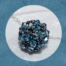 Fancy Bead Ball Necklace Beading Tutorial.  http://www.jewelrymakingprofessor.com/products/Fancy-Bead-Ball-Necklace-Video-on-Demand.cfm