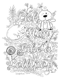 Facebook Groups Swearywords Fairy ColoringAdult Coloring PagesColoring