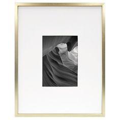 Extruded Aluminum Picture Frame - Brass 5x7 - Room Essentials™