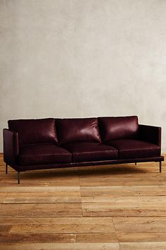 Leather Linde Sofa - anthropologie.com