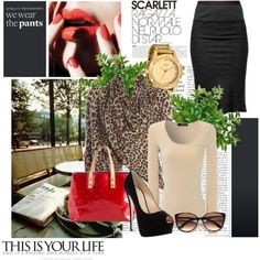 """scarlett"" by jules7777 on Polyvore"