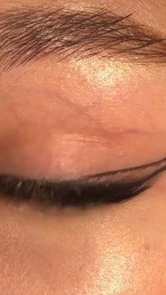 Eye Makeup Steps, Makeup Eye Looks, Eyeliner Looks, Eye Makeup Art, Kiss Makeup, Pretty Makeup, Eyeshadow Makeup, Beauty Makeup, Face Makeup