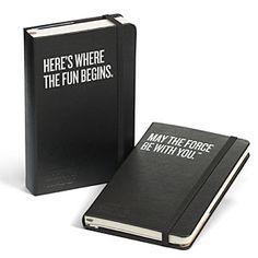 #StarWars Moleskine daily planners from Think Geek