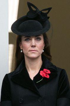Kate wearing a McQueen coat