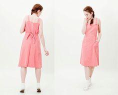 PinUp Kleid / Medium / Vintage rot und weiß von TheVintageAttack